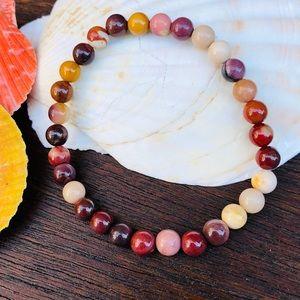 Jewelry - 🆕🆕🆕✨MOOKAITE JASPER STONE BEAD BRACELET✨
